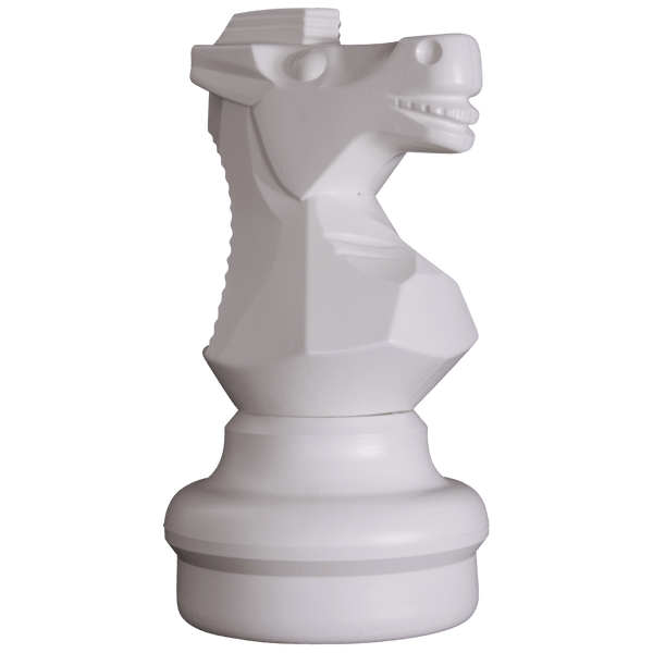 MegaChess 18 Inch Light Plastic Knight Giant Chess Piece |  | GiantChessUSA