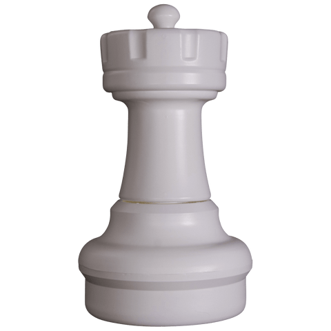 MegaChess 17 Inch Light Plastic Rook Giant Chess Piece |  | GiantChessUSA