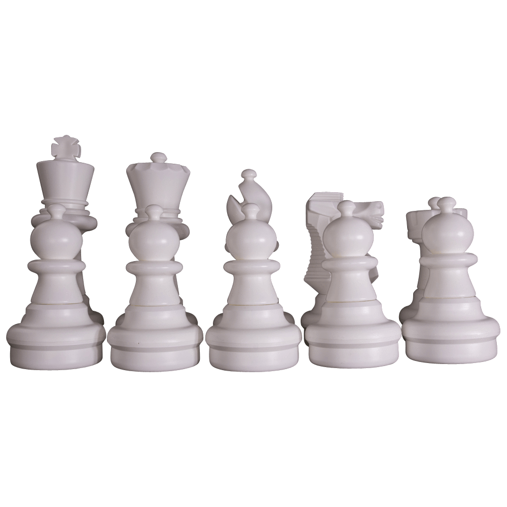 "MegaChess 25"" Chess Set - White Side Only 