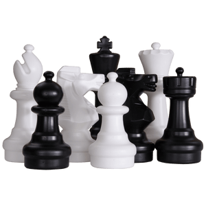 MegaChess 12 Inch Plastic Giant Chess Set | Default Title | GiantChessUSA