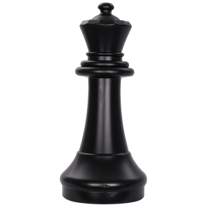 MegaChess 15 Inch Dark Plastic Queen Giant Chess Piece |  | GiantChessUSA