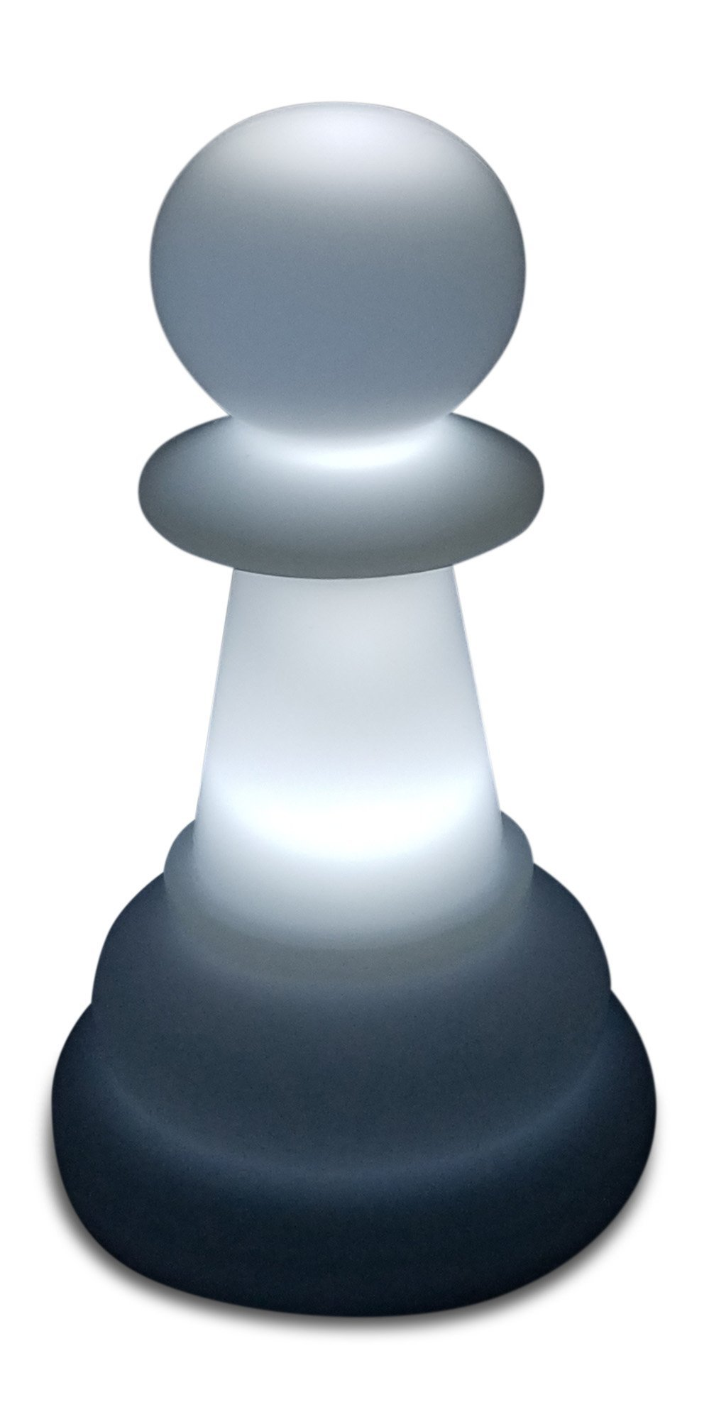 MegaChess 16 Inch Premium Plastic Pawn Light-Up Giant Chess Piece - White | Default Title | GiantChessUSA