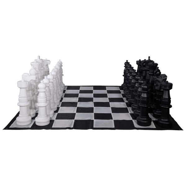 MegaChess 37 Inch Giant Plastic Chess Set - Rental |  | GiantChessUSA