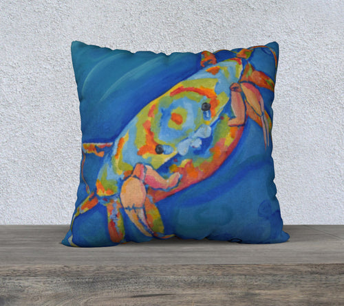 Dazed Crab Luxury Pillow Cover 22 X 22