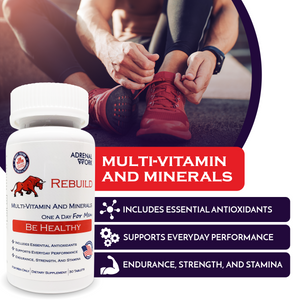 Rebuild - Men's Multivitamins and Minerals