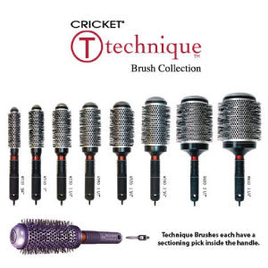 Technique Hairbrushes by Cricket