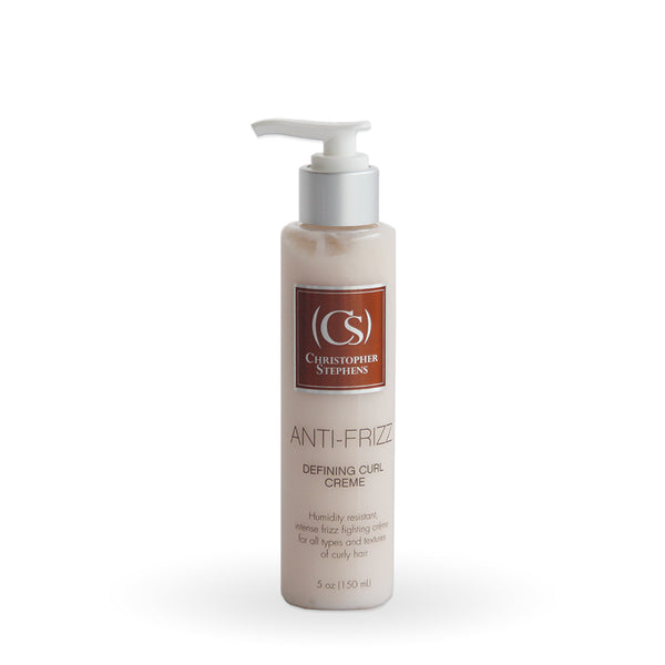 Christopher Stephens Anti-Frizz Defining Curl Creme 5oz - Christopher Stephens Professional Hair Care Products