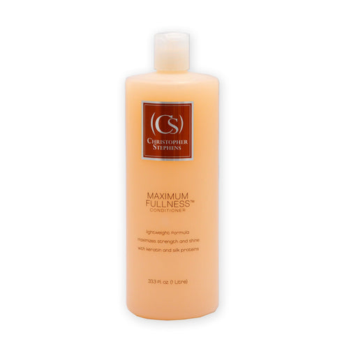 Christopher Stephens Maximum Fullness Conditioner 33.3oz - Christopher Stephens Hair Salon West Palm Beach