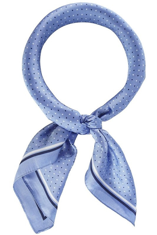 The Periwinkle Scarf