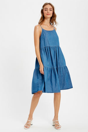Christina Denim Dress