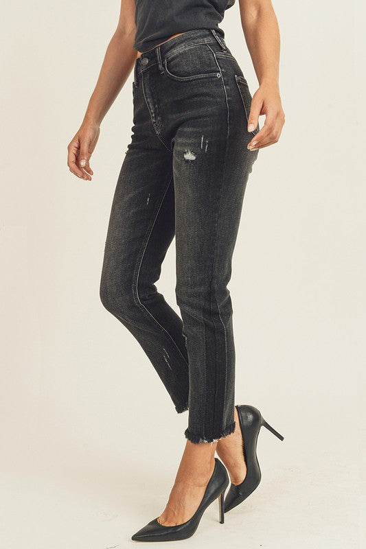HW Vintage Relaxed Fit Skinny Jeans