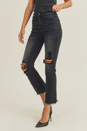 HW Distressed Vintage Ankle Straight