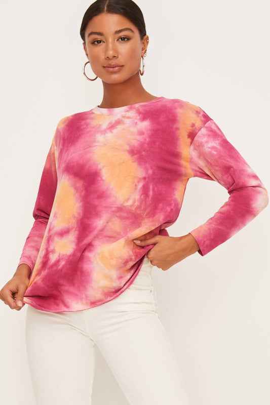 Girl Crush Tie Dye Top