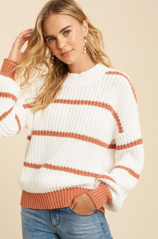 Striped Kinsley Sweater