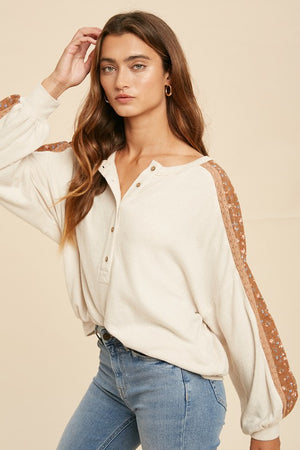 Hacci Boho Sweater