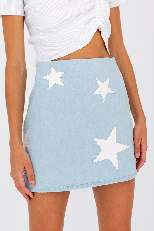 Denim Dream Mini Skirt