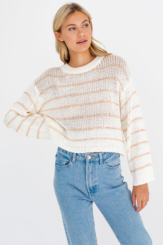 Anna Striped Sweater