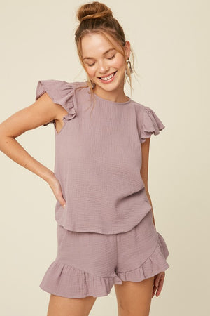 Soul Sister Cotton Top Lavender