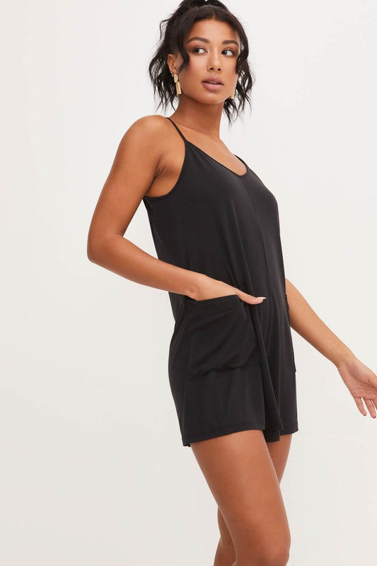 Catch Me Lounging Romper