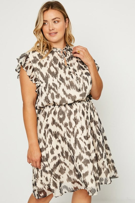 French Nights Curvy Dress