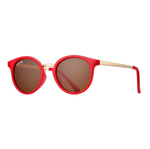 Lucca - Red + Gold / Brown Polarized Lens