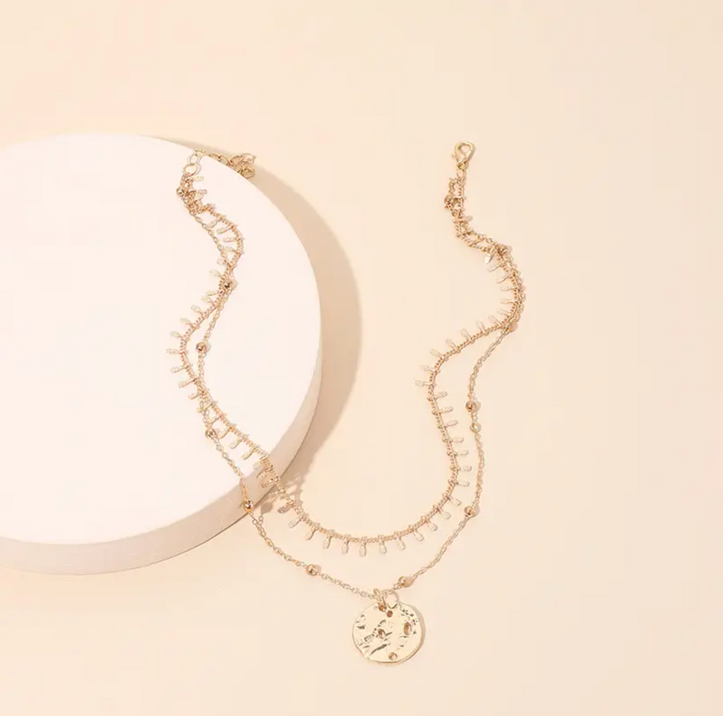 Bohdi Double Chain Necklace