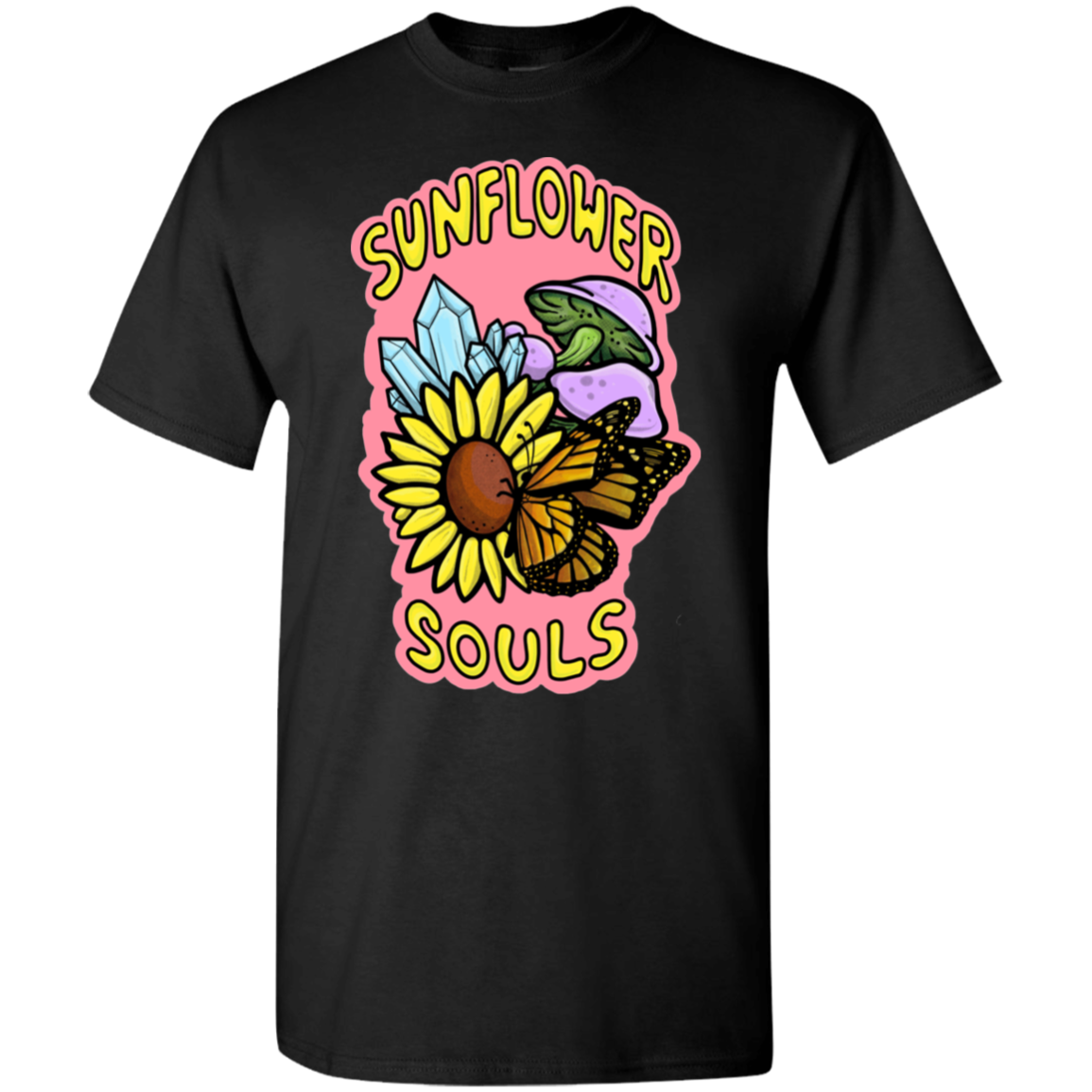 Sunflower Souls Tshirt NEW LOGO