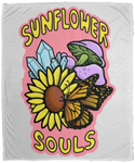 Sunflower Souls Plush Fleece Blanket - 50x60