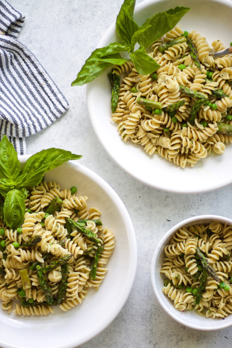 Three Easy Recipes For Your Busy Week Easy Roasted Asparagus Pesto Pasta My Diary of Us