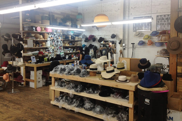 Inside the Makers Workshop Gladys Tamez Millinery hats