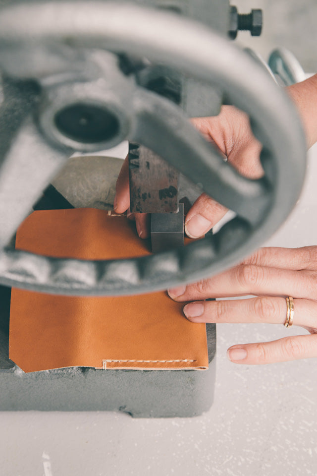 Inside the Makers Workshop Amy Tremper Stitch and Hammer leather