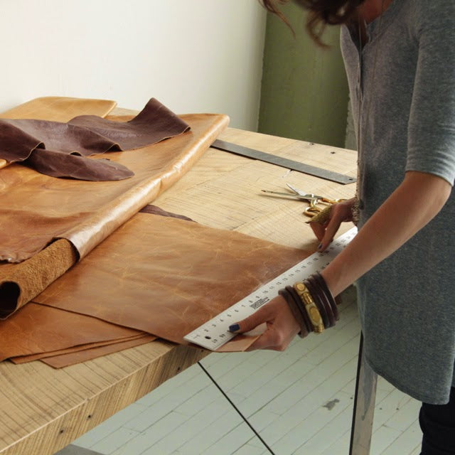 Inside the Makers Workshop Fount Leather Phillip and Jackie Wachter