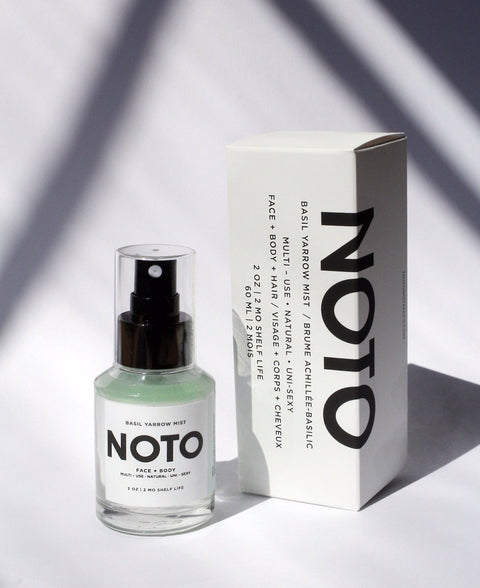 Noto Botanics Basil Yarrow Hair and Skin Mist