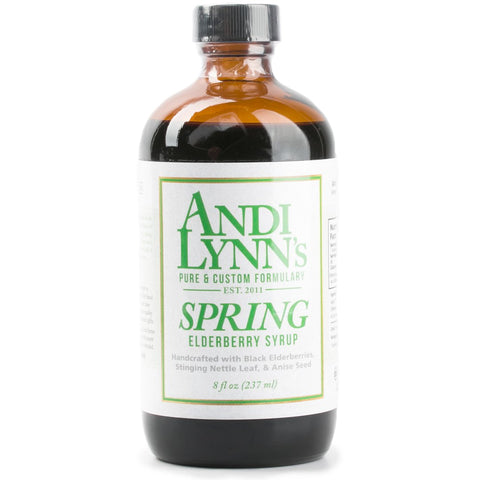 Andi Lynn's Spring Elderberry Syrup 8 oz - Makers Workshop