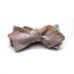 Speckled Grey & Coral Bow Tie