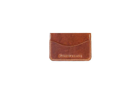 Clayton and Crume Horween Leather Handmade Dublin Wallet