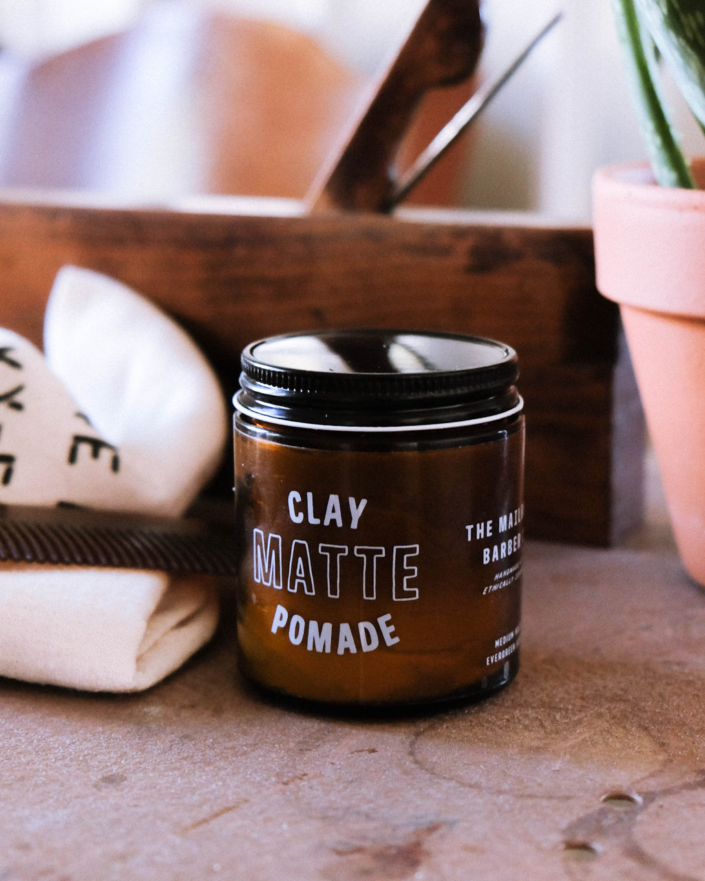 Mailroom Barber Clay Matte Pomade Makers Workshop