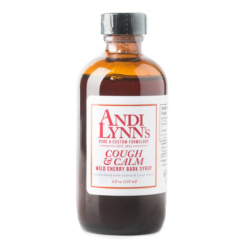 Andi Lynn's Wild Cherry Bark Cough and Calm Syrup 4 oz - Makers Workshop