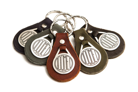 DOOMEDnyc Leather Key Fob - Makers Workshop