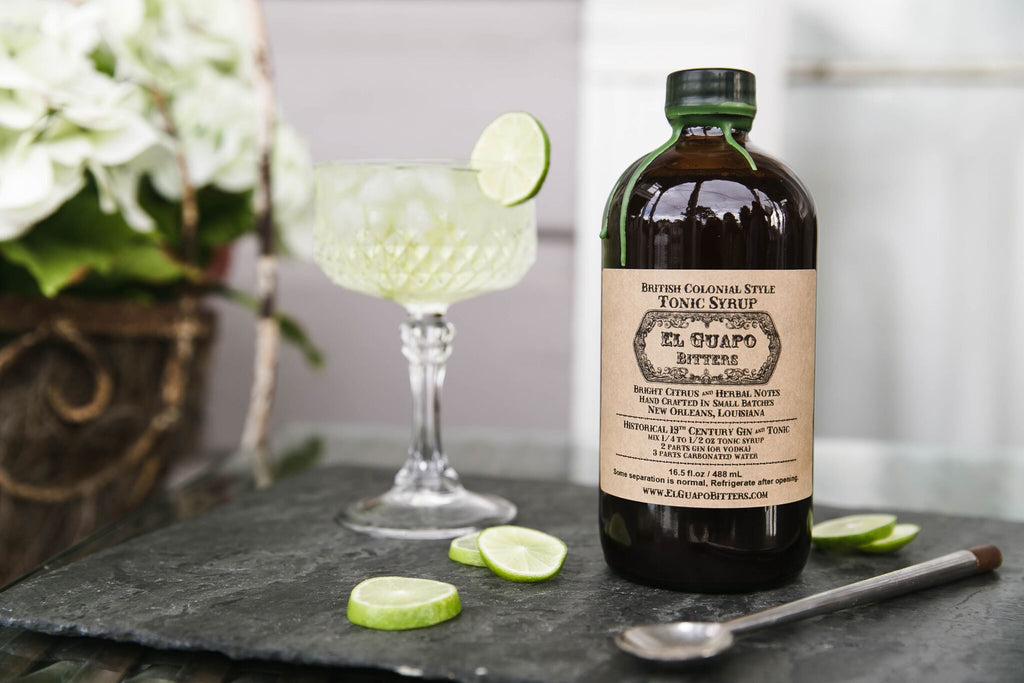 This British Colonial Style Tonic is incredibly unique and herbaceous. Full of fresh, bright citrus and slightly floral notes, our tonic finishes with a lingering but pleasant bitterness. If you're a fan of proper Gin & Tonics, this will be your bar's best kept secret. Made in Louisiana by makers, El Guapo. Non-GMO, Vegetarian, Paleo Friendly and No Sugar Added. All ingredients are locally sourced and traceable to the farm level, or third party certified organic.