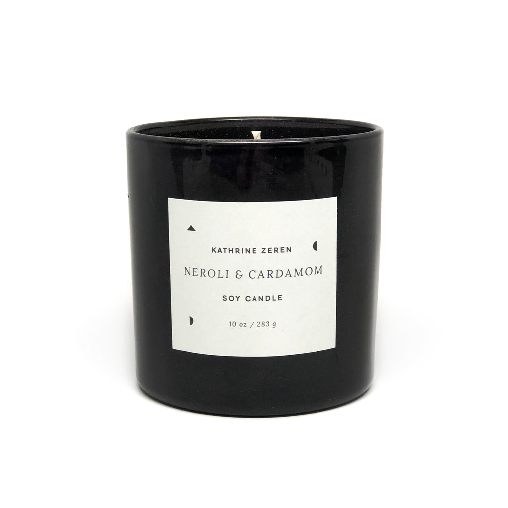 Kathrine Zeren Neroli and Cardamom Natural Essential Oil Candle