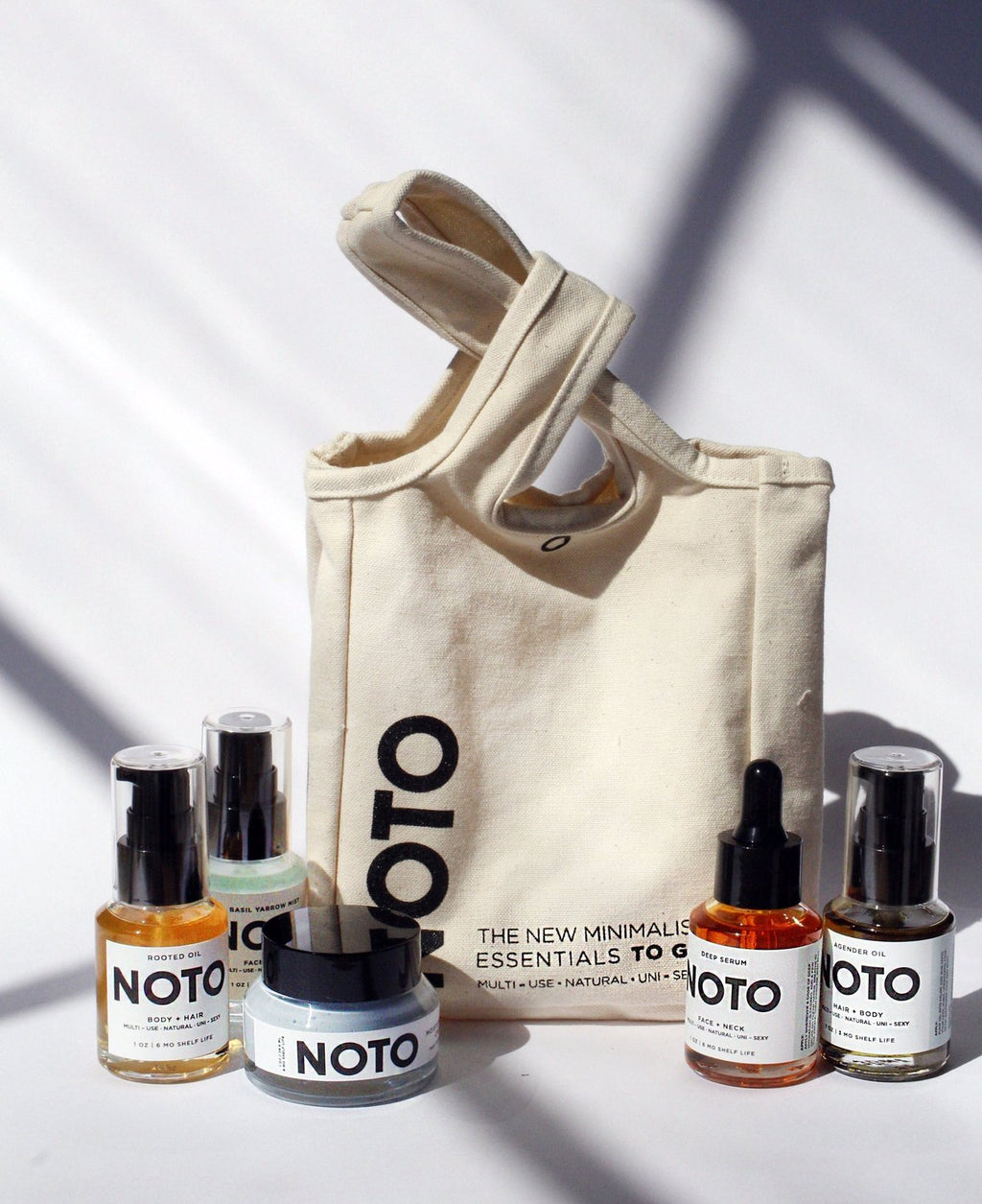 Noto To Go Travel Set Beauty Everywhere You Go on Makers Workshop