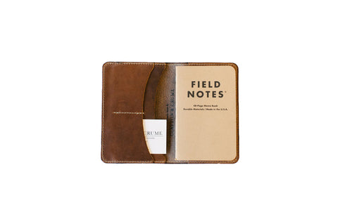 Clayton and Crume Field Notes Horween Handmade Leather Journal