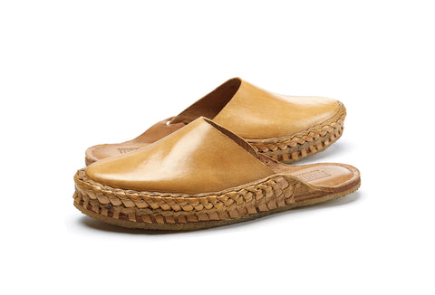 Mohinders Handmade Solid Leather City Slipper