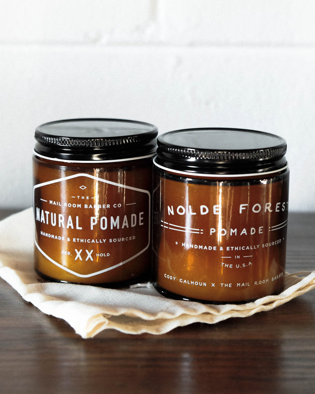 Mailroom Barber Pomade Bundle Makers Workshop