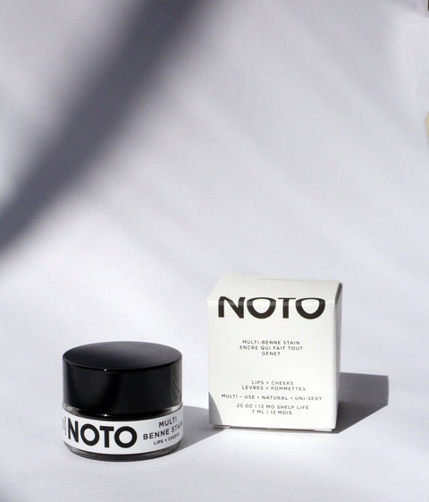 Noto Botanics Genet Multi Benne Lip Stain Pot Makers Workshop