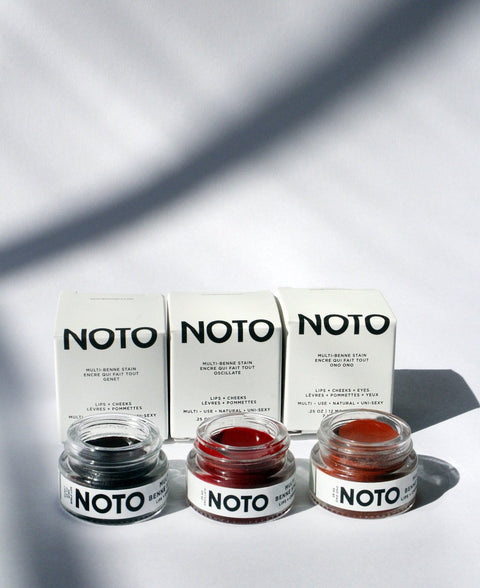 NOTO Color Trio multi use set featuring Ono Ono, Oscillate, Genet