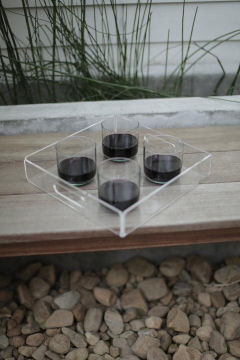 Newly Balsamo Recycled Acrylic Lucite Tray