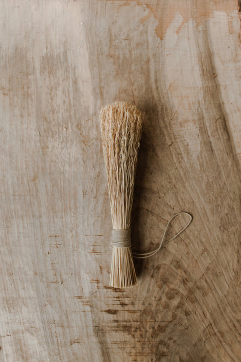 Sunhouse Craft Shaker Whisk Broom w/ Hemp Cord - Makers Workshop