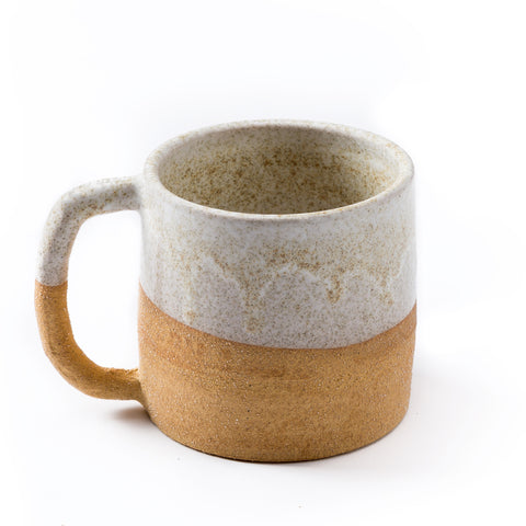 Uzumati Ceramics Bodie Mug - Named after the once prosperous ghost town of Bodie, this mug is dipped in an iron-rich glaze, which when fired, leaves behind golden specks. *Each piece is hand thrown.